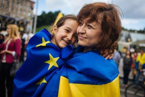 Большинство европейцев поддерживает вступление Украины в ЕС, - опрос
