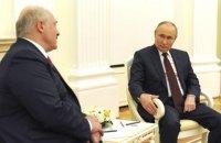 Лукашенко и Путин договорились совместно противодействовать западным санкциям