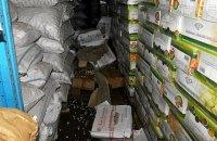 Со склада в Киеве украли две тонны орехов кешью