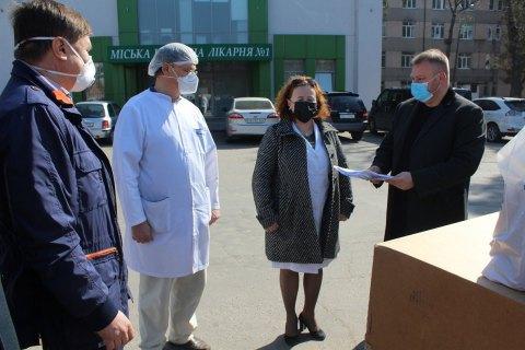 Вінницька міська лікарня №1 отримала реанімаційне обладнання від Фонду Порошенка