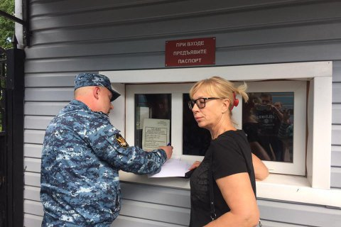 Денісову четвертий день не пускають до українських політв'язнів у РФ, - Геращенко