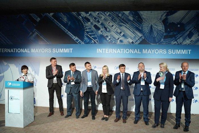 Во время третьего Международного саммита мэров в Киеве