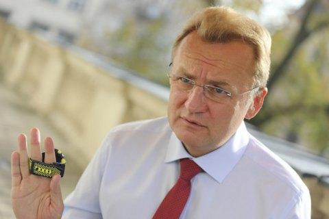 Садового оголосили переможцем на виборах мера Львова