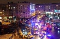 У Санкт-Петербурзі стався вибух у супермаркеті, є постраждалі (оновлено)