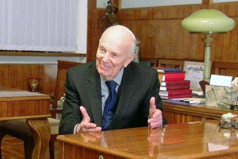 101-летний академик Патон намерен покинуть пост президента НАНУ