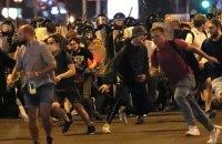У Білорусі  під час протестів затримали 3 тис. людей