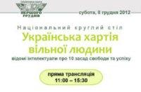 Онлайн-трансляция Национального круглого стола: как правильно жить в Украине
