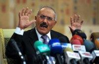 Екс-президент Ємену спростував повідомлення про намір покинути свою країну