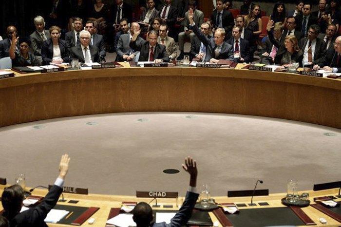 Голосування у РБ ООН по резолюції про створення міжнародного трибуналу щодо аварії малайзійського авіалайнера, 29 липня 2015