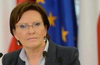 Правительство Польши возглавила Эва Копач