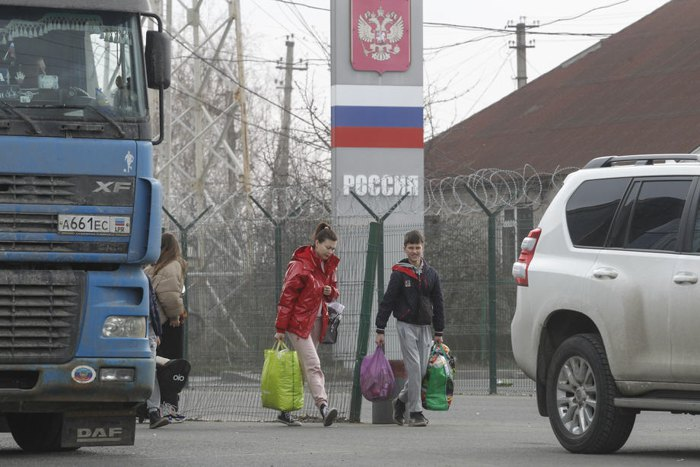 Контрольно-пропускной пункт «Успенка» между Россией и так называемой ДНР