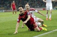 Євро-2016: Іспанія ледь не втратила очки в Білорусі