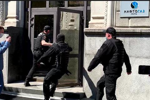 """Податкова міліція влаштувала обшук в """"Нафтогазі"""" (оновлено)"""