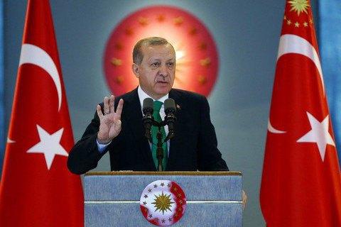 Эрдоган пригрозил отказаться от евроинтеграции Турции