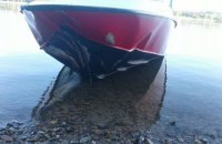 Одна людина загинула, ще одна в реанімації у результаті зіткнення моторних човнів на Дніпрі