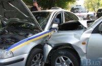У Києві сталася ДТП за участю правоохоронців
