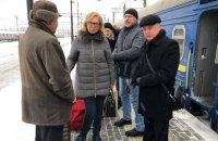 Денисова прибыла в Москву для участия в суде над пленными моряками