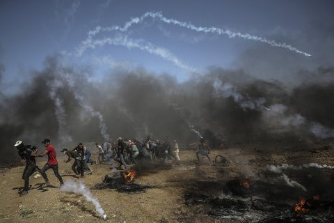 На границе между Израилем и сектором Газа возобновились столкновения, есть погибшие