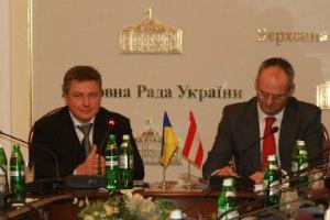 Алексей Азаров заверил, что Австрия поддерживает евроинтеграцию Украины
