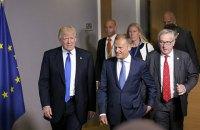 Трамп и Юнкер договорились о разрядке напряжения в торговых отношениях США и ЕС