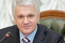 Литвин скромно предложил писать с себя портрет президента