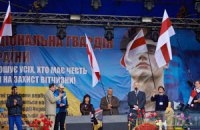 На Майдане разбирают сцену