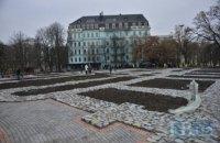 В Киеве открыли восстановленный фундамент Десятинной церкви