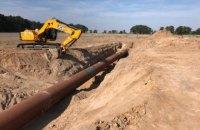 Газопровод около Чабанов восстановлен для транспортировки газа