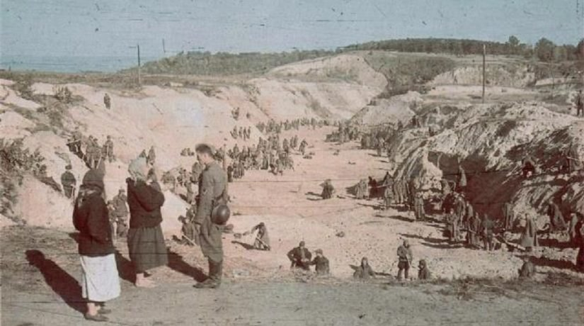 Урочище стало братською могилою та символом Голокосту в Україні.