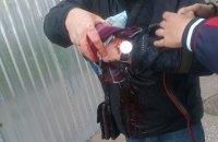 В Одессе на Куликовом поле в руках участника траурной акции взорвалась лампадка