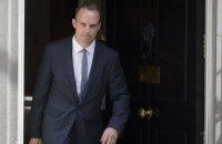 """Британский министр по """"брекситу"""" ушел в отставку из-за несогласия с Мэй"""