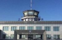 Житомирський аеропорт почав приймати міжнародні рейси