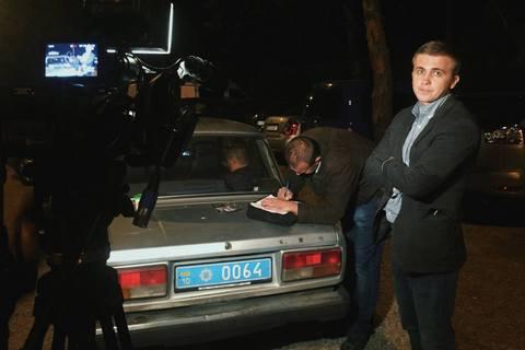 """Съемочная группа программы """"Схемы"""" заявила о нападении со стороны Госохраны (обновлено)"""