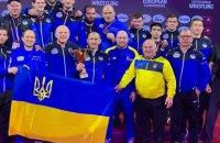Українські борці вільного стилю посіли друге загальнокомандне місце на Чемпіонаті Європи