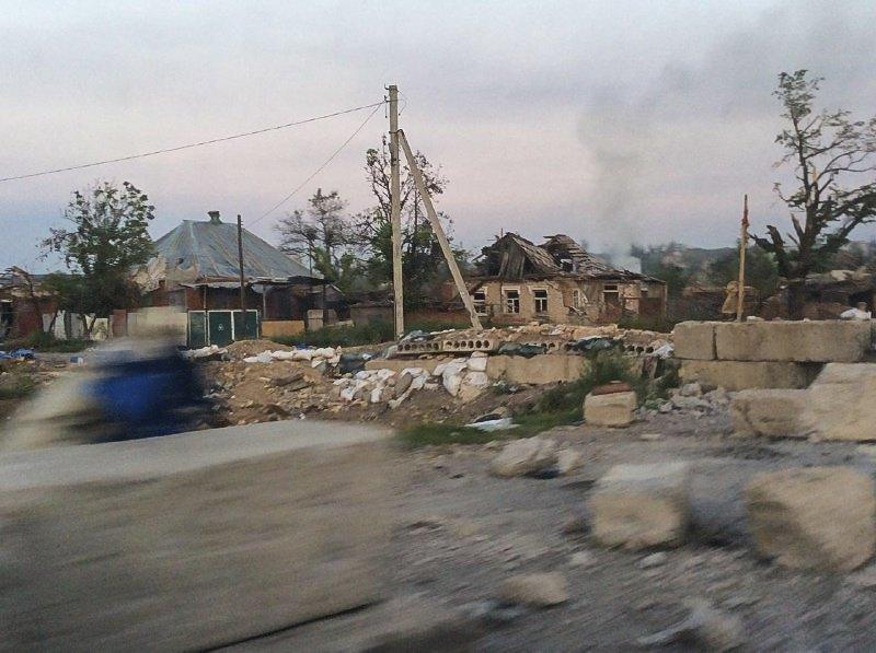Дорога на Краматорськ, 2014