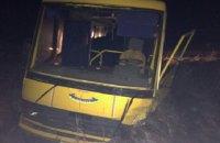 Водитель легкового BMW погиб после столкновения со школьным автобусом в Житомирской области