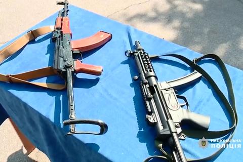 Украинская полиция начала менять автоматы Калашникова на немецкие MP5