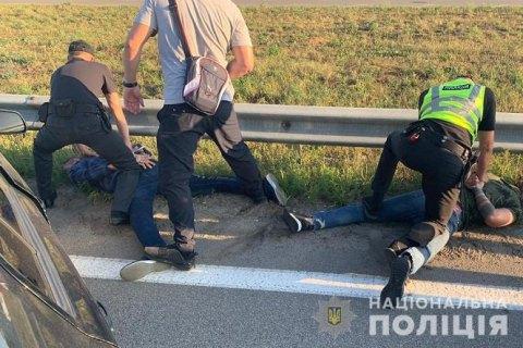 Поліція затримала трьох громадян Грузії за підозрою в пограбуванні заможної дачі під Борисполем