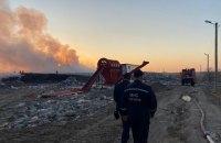У Львівській області загорілося новояворівське звалище