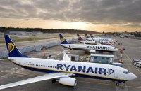 """Аэропорт """"Борисполь"""" согласовал 17 рейсов Ryanair из 24"""