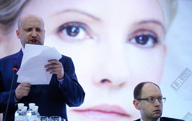 Турчинов с началом уголовного преследования Юлии Тимошенко лишился уверенности в жизни