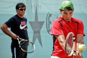 Дядя Тоні познущався над Рафою: мені подобається теніс а-ля Федерер