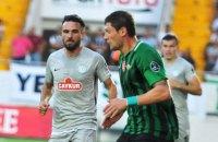 Селезнев за плевок в соперника был удален с поля в матче чемпионата Турции (обновлено)