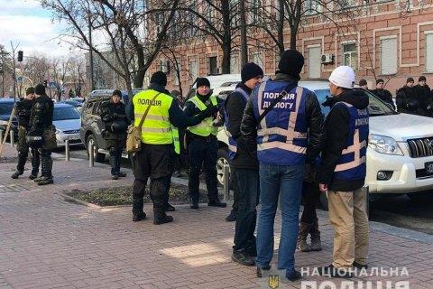 """В центр Киева стянули 1500 полицейских из-за очередной акции """"Нацкорпуса"""""""