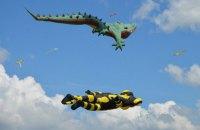 Возле Николаеве прошел фестиваль воздушных змеев