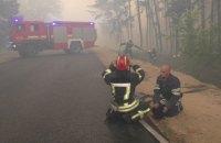 Пожежі в Луганській області поширилися на хвойні лісові квартали