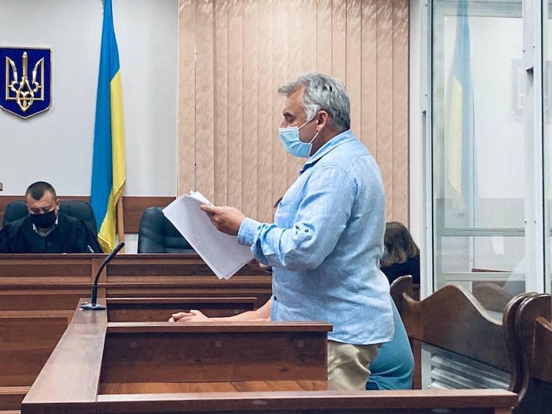 Адвокат обвинуваченого Олега Бойка Володимир Смехнов