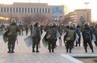 Обнародовано видео расстрела толпы в казахстанском Жанаозене