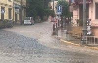 В Черновцах за три дня выпала полумесячная норма осадков