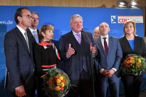 Партия Меркель на выборах в Гессене показала худший результат за полвека